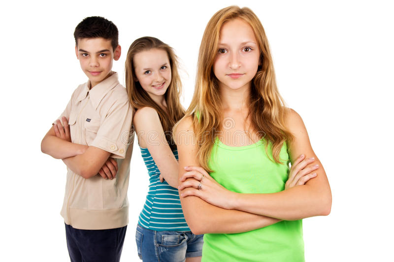 Toekomstige generatie, de jeugd royalty-vrije stock foto