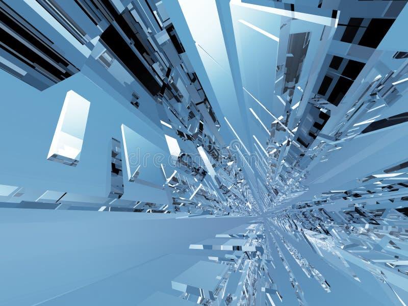 Toekomstige Technologie royalty-vrije illustratie