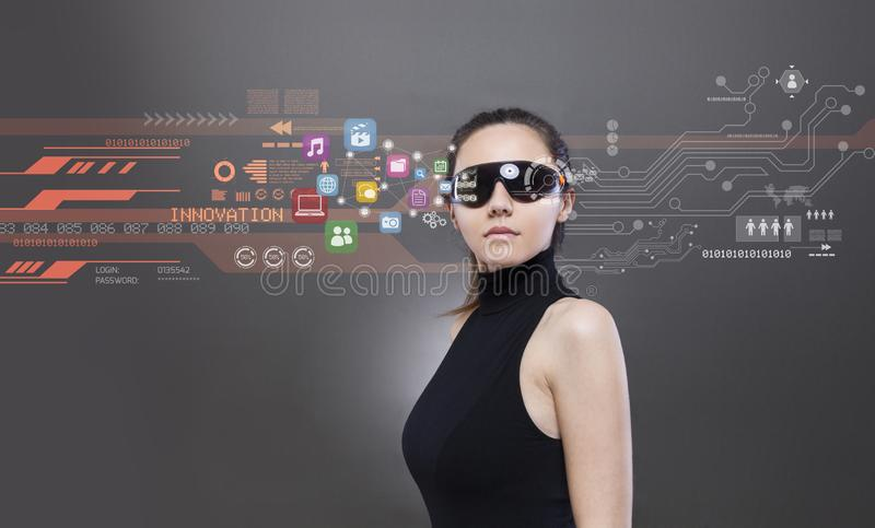 Toekomstige technologie?n royalty-vrije stock foto