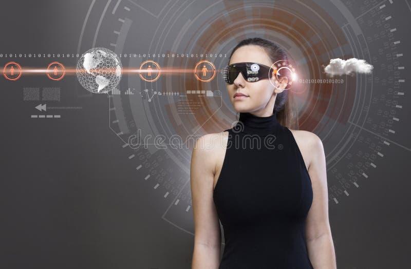 Toekomstige technologie?n royalty-vrije stock afbeelding