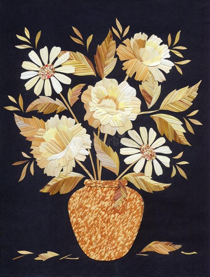 Toepassing: boeket van rozen royalty-vrije illustratie