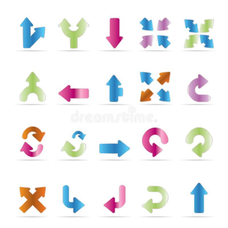 Toepassing, Programmering, het pictogram van de Server en van de computer stock illustratie