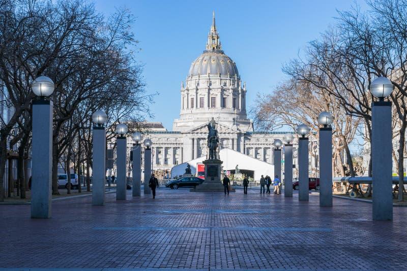 Toerisme in Verenigde Staten - San Francisco royalty-vrije stock fotografie