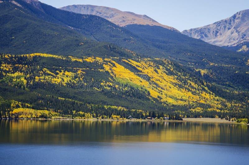 Toerismereis om Meren Colorado samen te brengen stock afbeelding