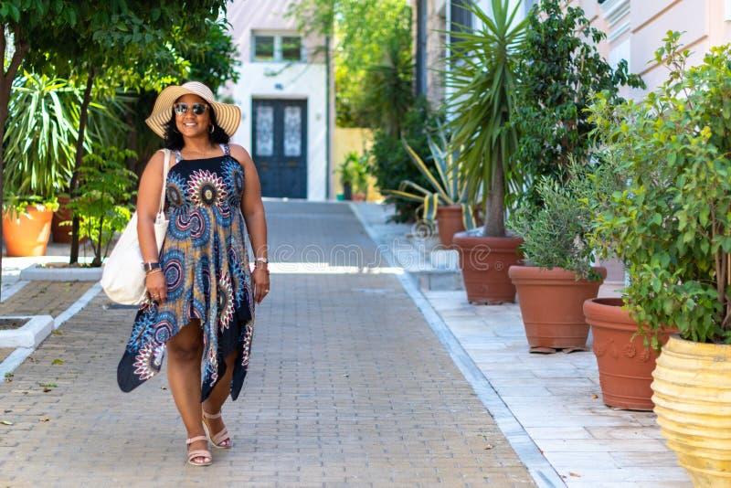 Toerist in Athene Griekenland royalty-vrije stock fotografie