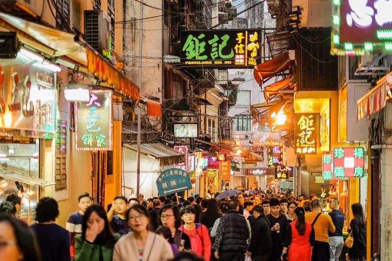 Toerist in Macao royalty-vrije stock afbeeldingen