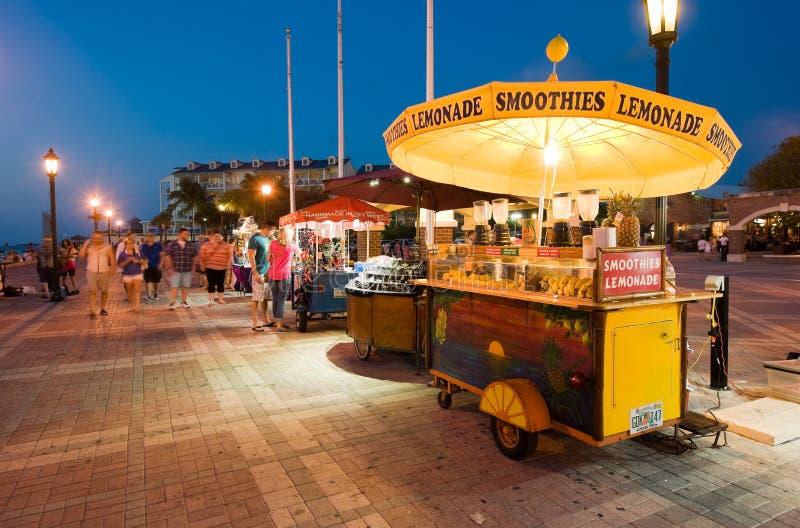 Toeristen in Key West royalty-vrije stock foto's