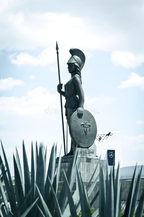 Toeristenmonumenten van de stad van Guadalajara stock foto
