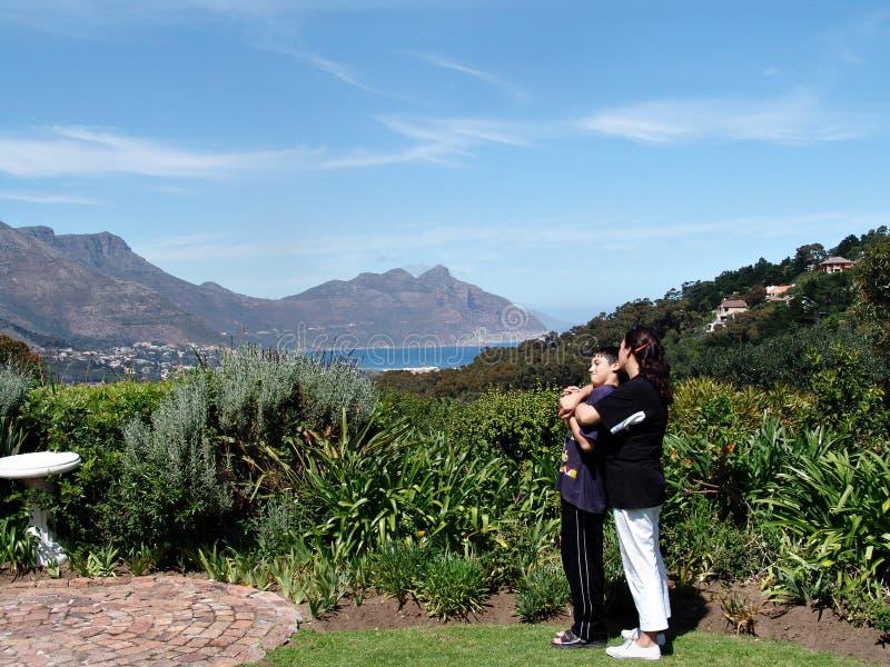 Toeristisch Kaapstad royalty-vrije stock foto's