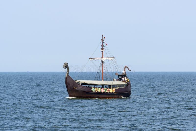 Toeristisch schip VIKING III royalty-vrije stock foto