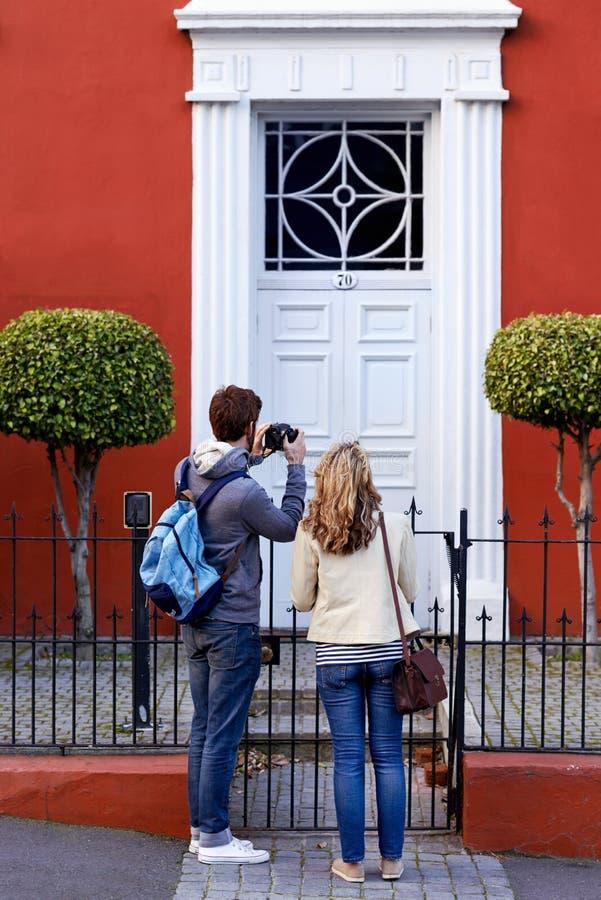 Toeristische attractie stock afbeeldingen