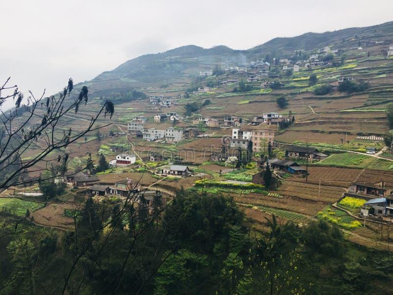 Toeristische attracties van het dorp van de tangbashevakantie stock foto's