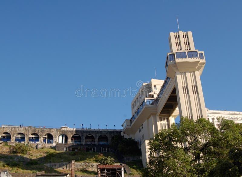 Toeristische plaats in Salvador stock foto