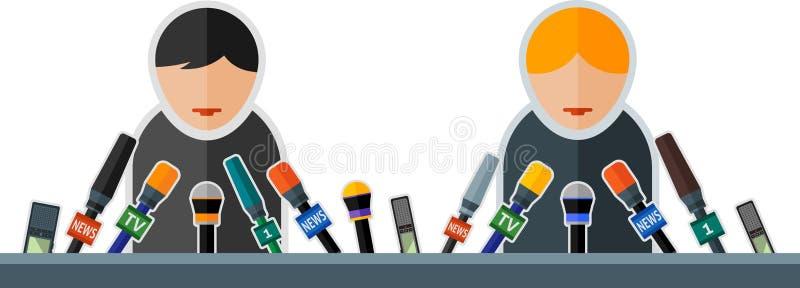 toespraak vector illustratie