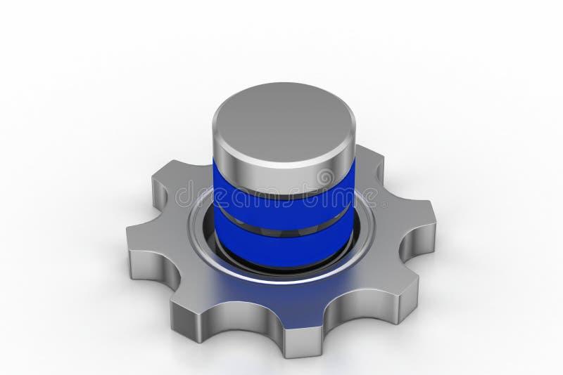 Toestel met batterij vector illustratie