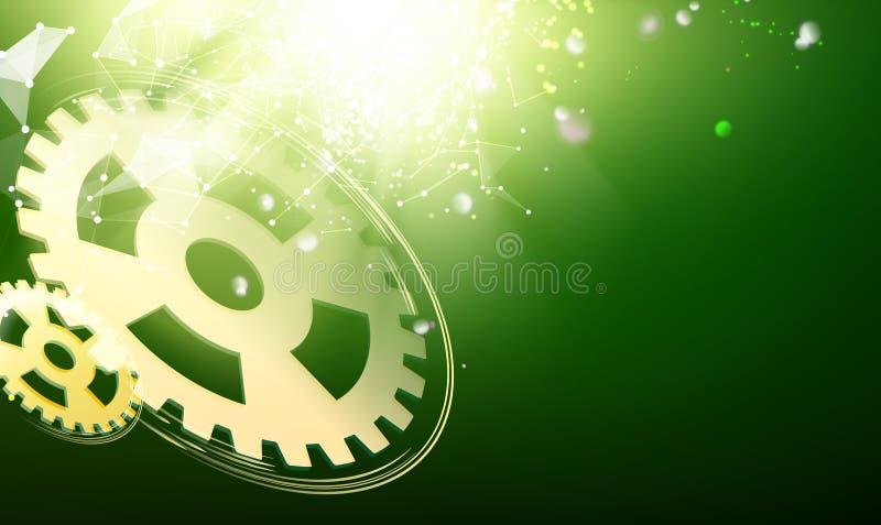 Toestel wheells vector illustratie