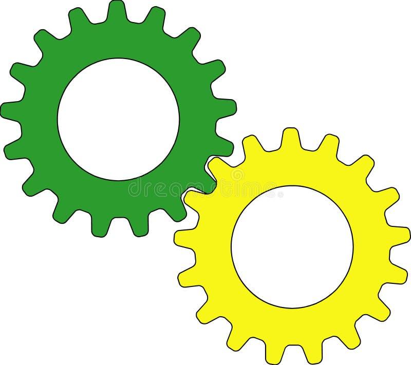 Toestellen vector illustratie