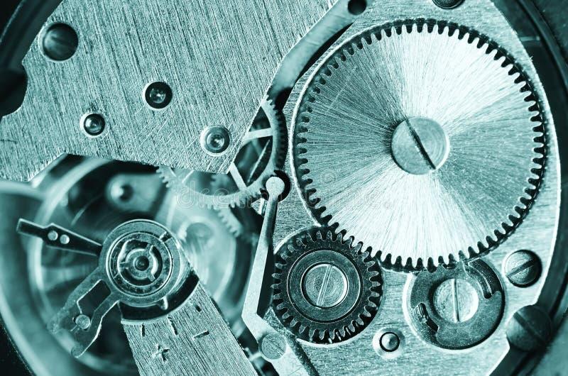 Toestellen oude mechanische horloges royalty-vrije stock foto
