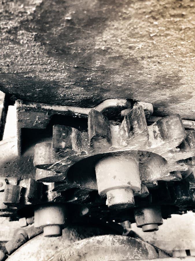 Toestellen van oude Korrelmolen stock foto's