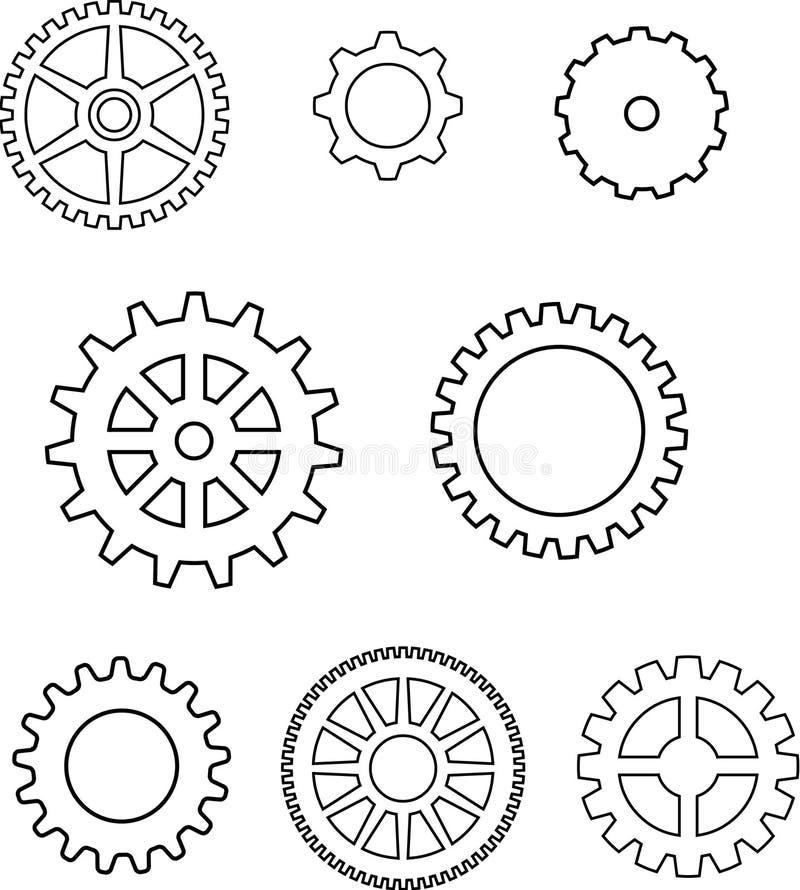Toestellen in vector vector illustratie