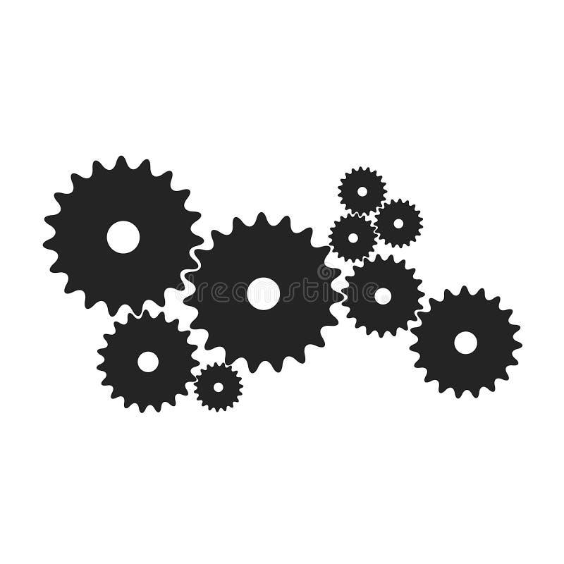 Toestellen in zwart ontwerp stock fotografie