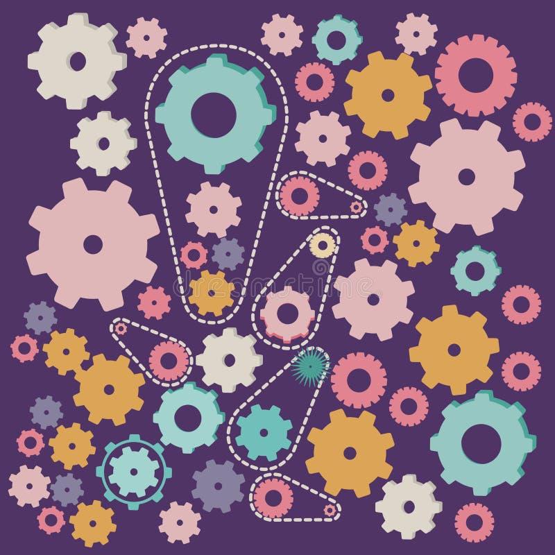 Toestellenontwerp vector illustratie