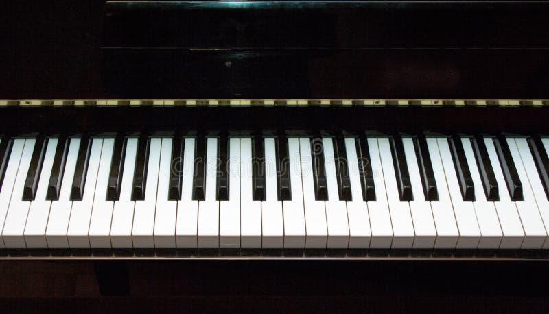 Toetsenbord 2 van de piano royalty-vrije stock afbeelding