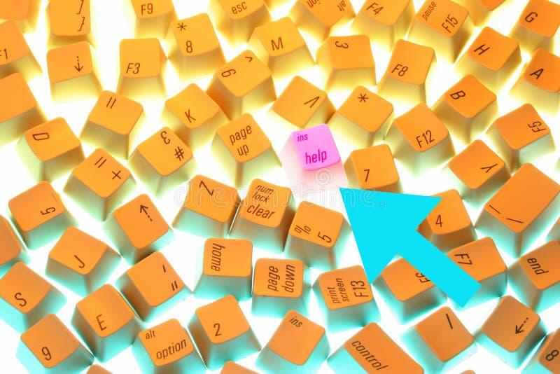 Toetsenbord-c stock afbeeldingen