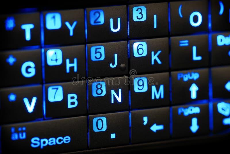 Toetsenbord PDA stock fotografie