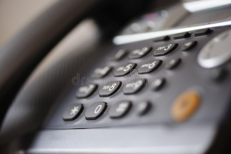 Toetsenbord van een telefoon royalty-vrije stock afbeelding