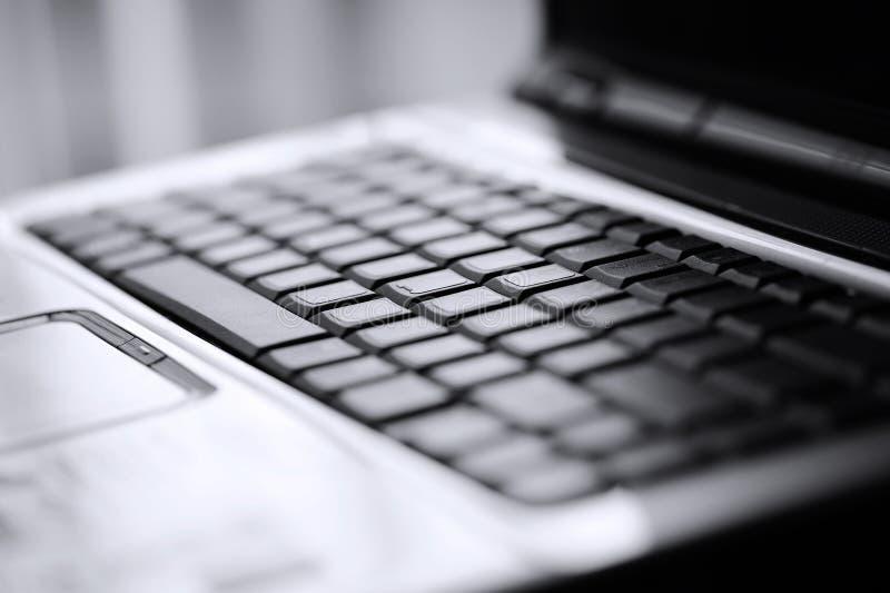 Toetsenbord van laptop royalty-vrije stock fotografie