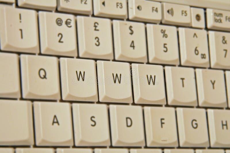 Toetsenbord www stock foto's