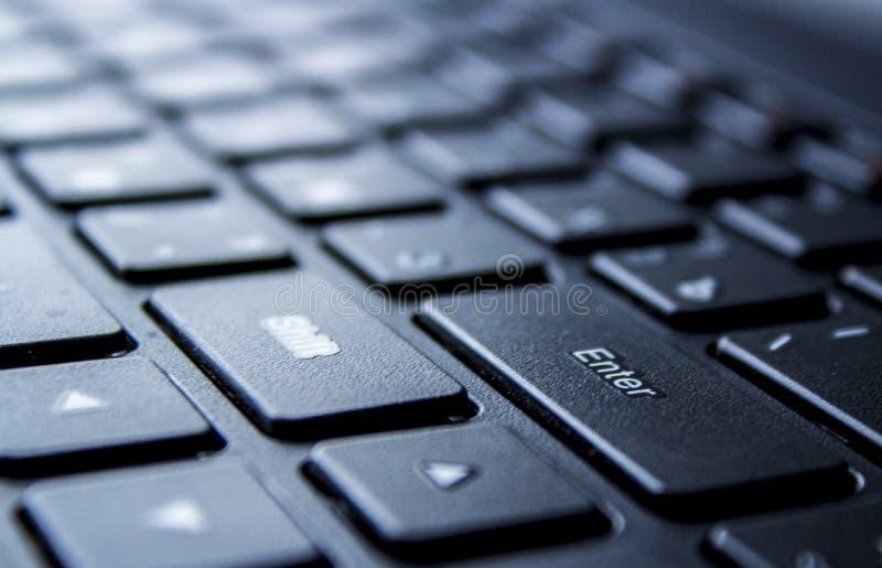 Toetsenbordcomputer royalty-vrije stock foto