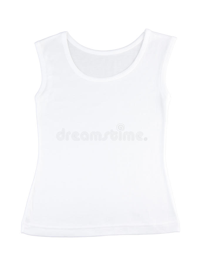 Toevallig wit hemd royalty-vrije stock afbeelding