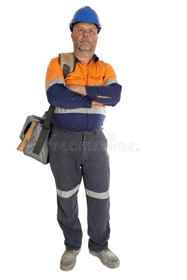Toevallige Arbeiderskerel stock fotografie