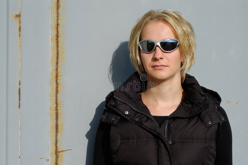 Toevallige vrouw stock fotografie