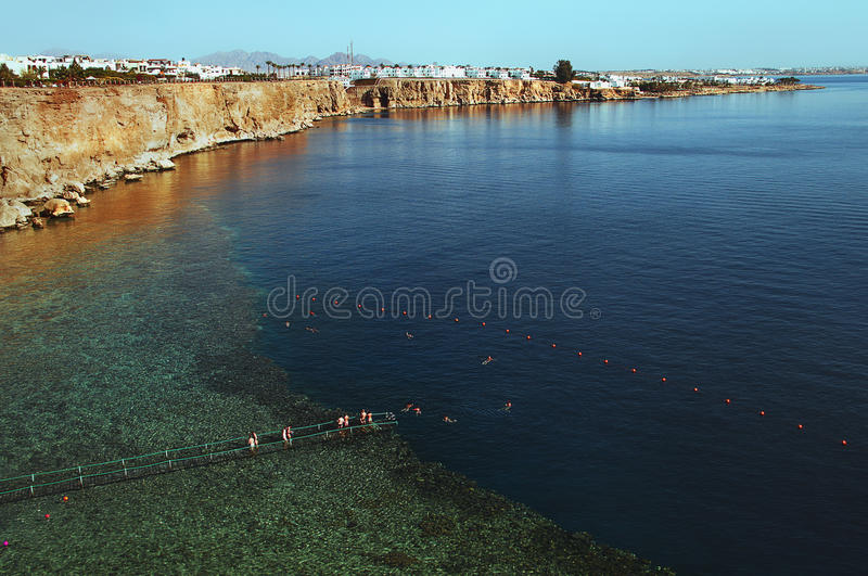 Toevlucht in Egypte stock foto