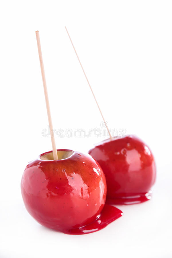 Toffee Apple obraz royalty free