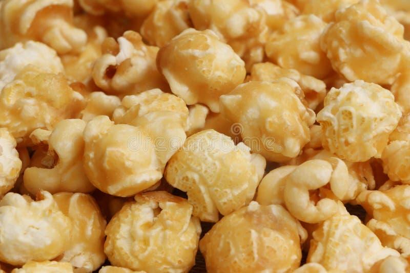 Toffee/Carmel Popcorn imagem de stock