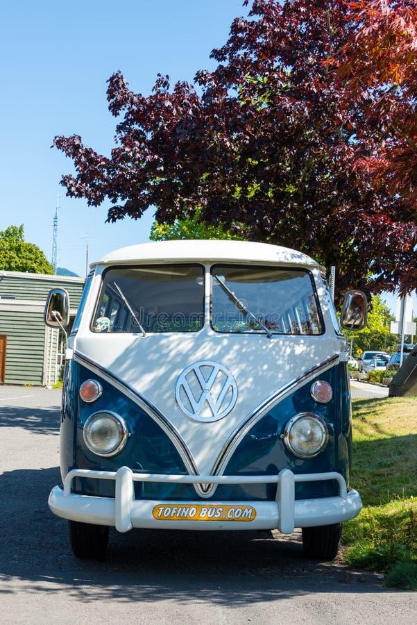 Tofino Volkswagen Microbus royalty free stock photo
