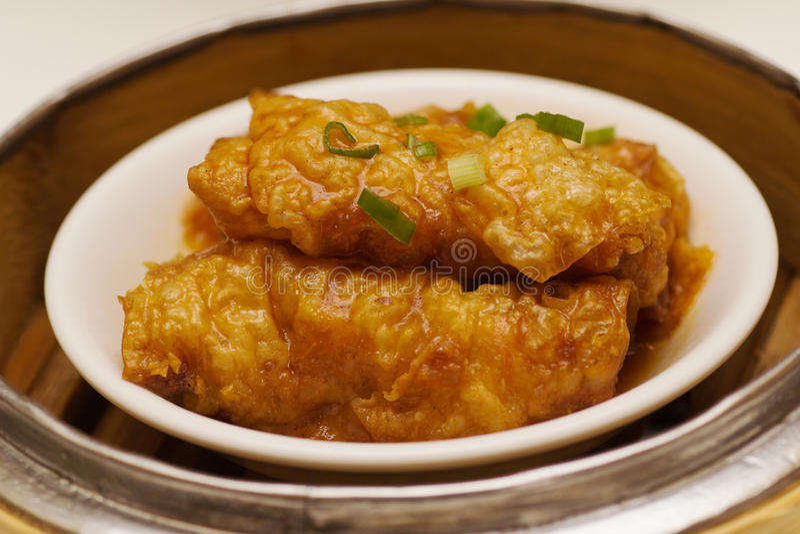 Tofu ρόλος δερμάτων στοκ εικόνα με δικαίωμα ελεύθερης χρήσης