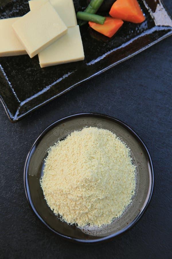 Tofu σκονών στοκ εικόνα με δικαίωμα ελεύθερης χρήσης
