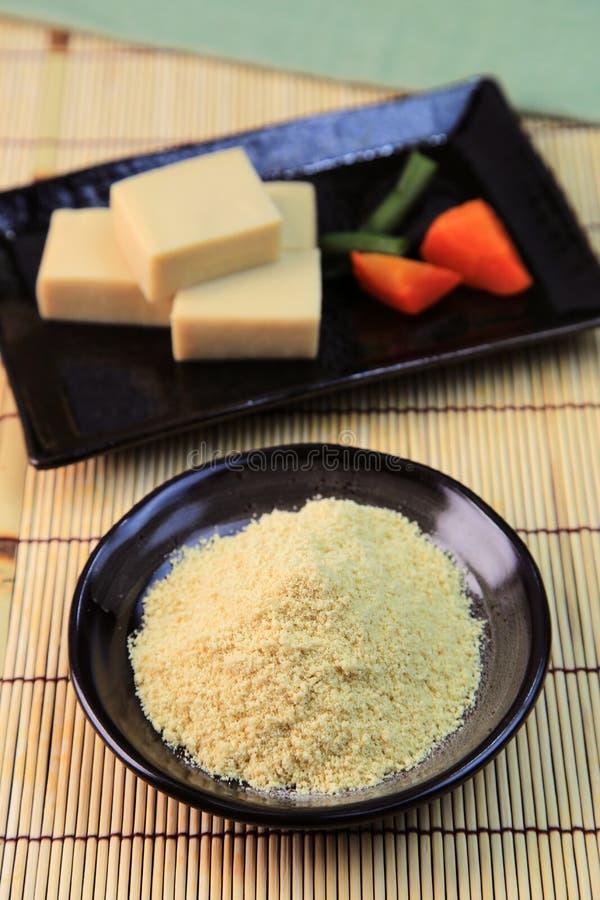 Tofu σκονών στοκ φωτογραφία με δικαίωμα ελεύθερης χρήσης