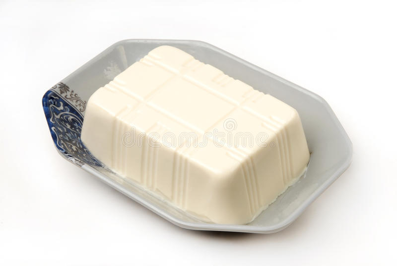 Tofu royalty-vrije stock foto's