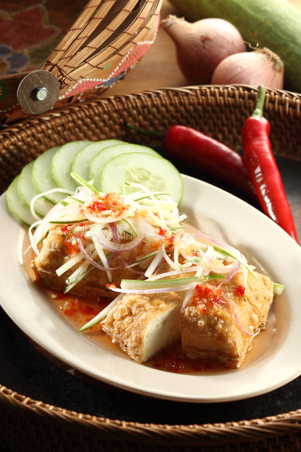 Download Tofu stock photo. Image of thai, cucumber, sauce, yummy - 23908500