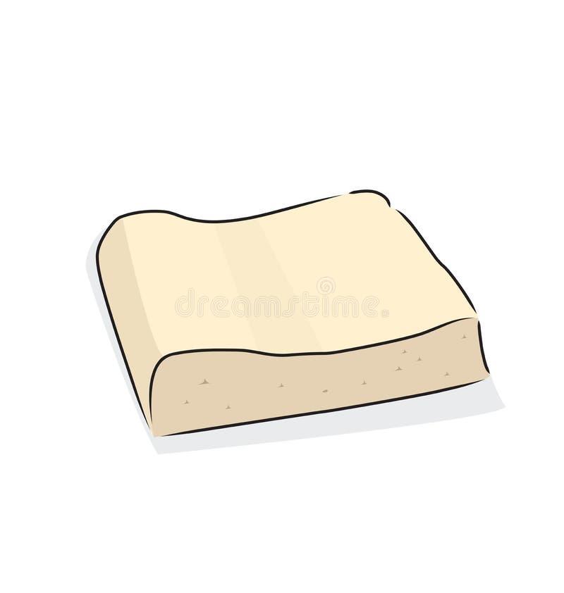 tofu ilustracja wektor