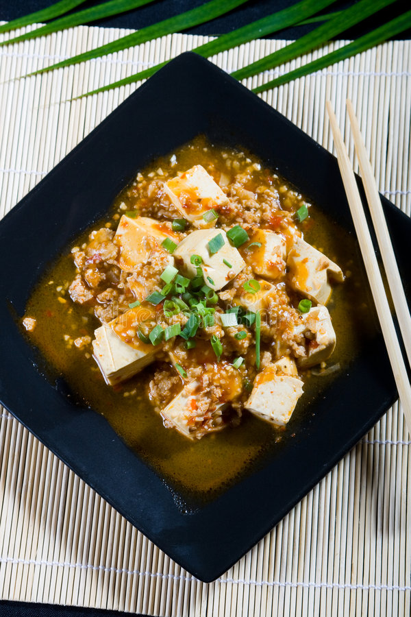 Download Tofu stock image. Image of cuisine, flavor, plate, garnish - 8601369