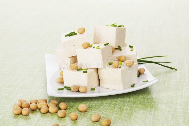 Tofu et soja photographie stock