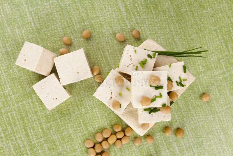 Tofu et soja délicieux photos libres de droits