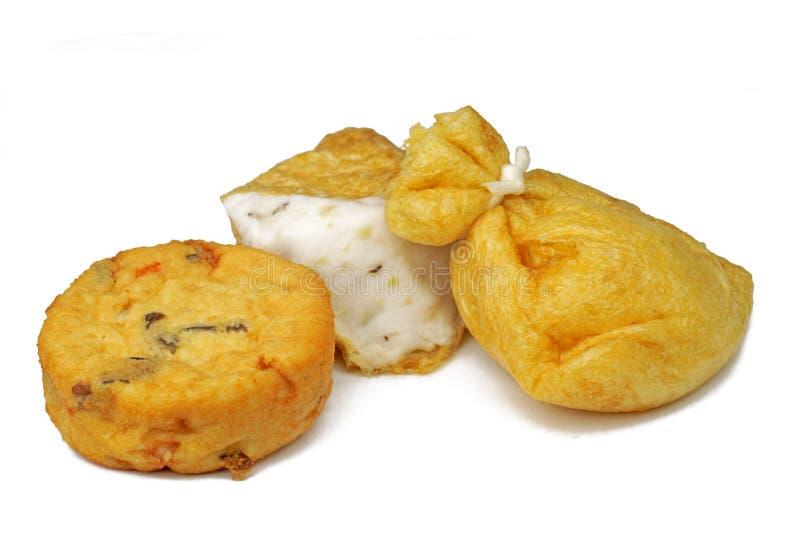 Tofu frit image libre de droits